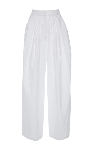 Medium vika gazinskaya white bananas relaxed fit pants