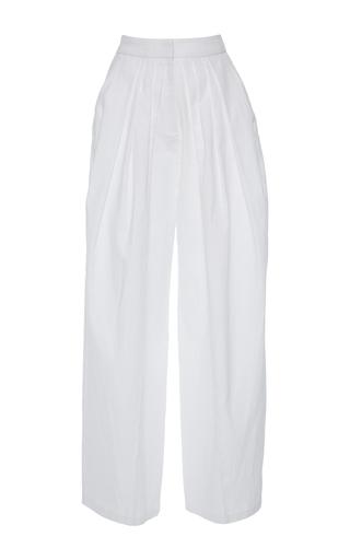 Medium vika gazinskaya white bananas relaxed fit pants