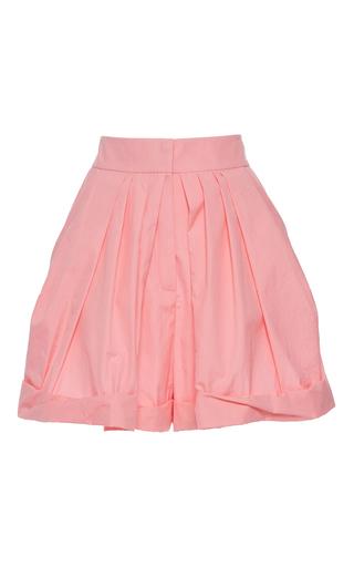 Medium vika gazinskaya pink pink high waisted pleated shorts