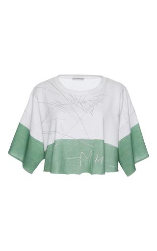 Medium vika gazinskaya white scribble t shirt