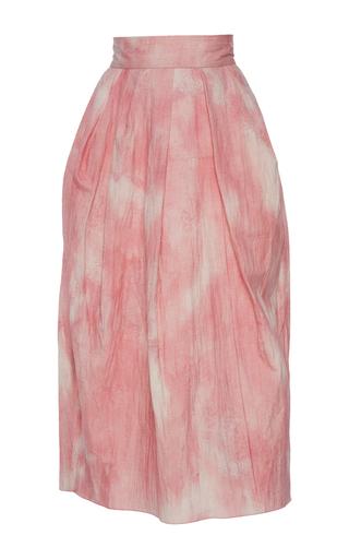 Medium vika gazinskaya pink pink midi length skirt