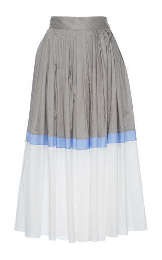 Medium vika gazinskaya multi pleated a line skirt