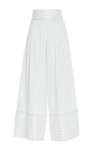 Medium luisa beccaria stripe linen stretch stripes pants