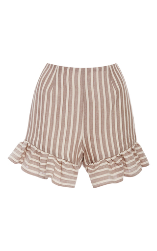 Medium christine alcalay stripe ice cream stripe shorts