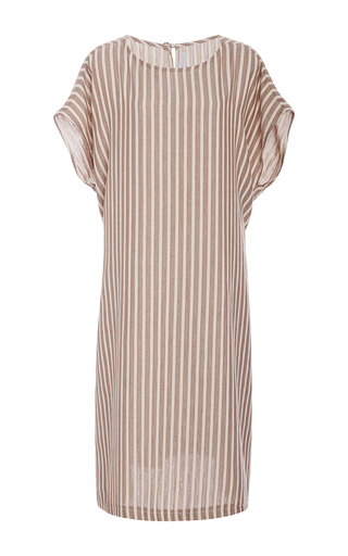 Medium christine alcalay stripe ice cream stripe tunic dress