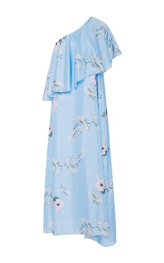 Medium christine alcalay print hibiscus asymmetric dress