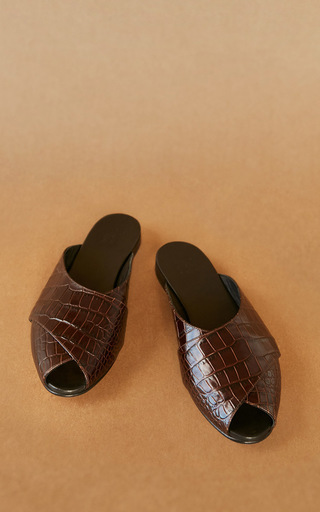 Medium trademark brown pajama sandal