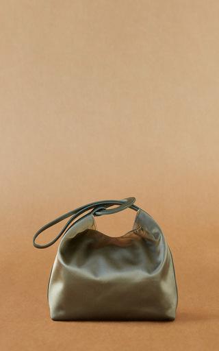 Medium trademark green pina bag