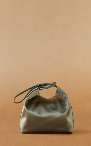 Medium trademark green pina bag