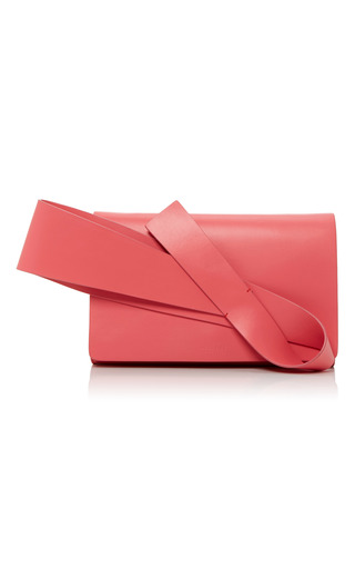 Medium delpozo pink flamingo pink orchid evening clutch