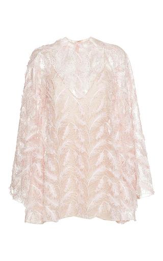 Medium sandra mansour white couche du soleil embroidered mini dress