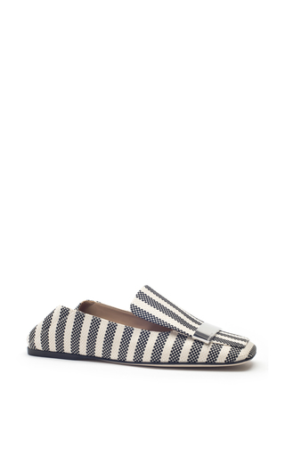 Medium sergio rossi stripe striped portofino flats 2