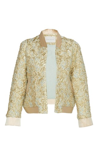 Medium sandra mansour gold la lune jouait brocade jacket