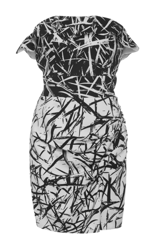 Medium emanuel ungaro print sleeveless printed mini dress