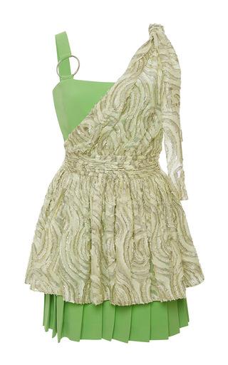 Medium emanuel ungaro multi peplum mini dress