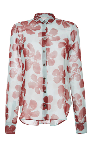 Medium emanuel ungaro print printed silk shirt