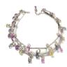 Medium fabio salini multi necklace capricci with fancy sapphires and diamonds