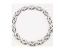 Medium fabio salini white necklace vertigo with moonstone mother of pearl diamonds and rock crystal