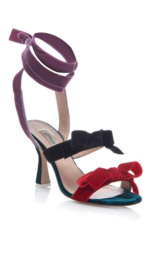 Medium attico purple diletta pump sandals 2