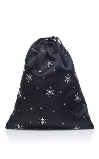 Medium attico black sofia star pouch