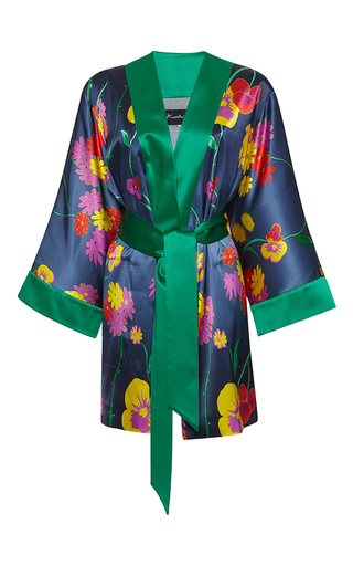 Medium rossella jardini print revisited kimono