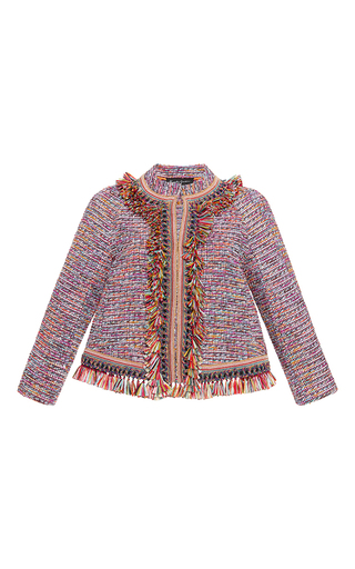 Medium rossella jardini multi bohemian boxy jacket