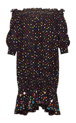 Medium rossella jardini multi smocking over dress