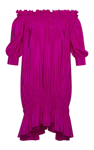 Medium rossella jardini pink smocking over dress 2