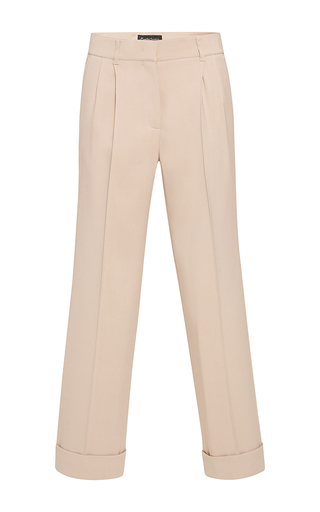 Medium rossella jardini nude menswear classical fit pants