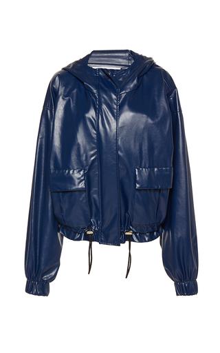 Medium wanda nylon navy dorothy hooded jacket 2