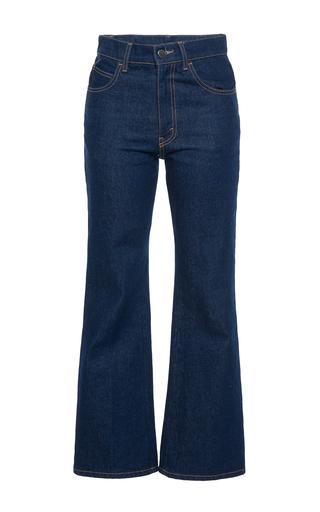 Medium attico blue rosa high waist jeans