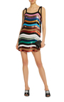 Sabrina Mini Allover Paillette Dress By Attico Moda Operandi