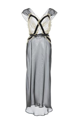 Medium attico multi juliana georgette silk metal sleep dress