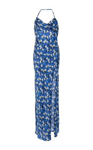 Medium attico print leticia sleep dress printed satin