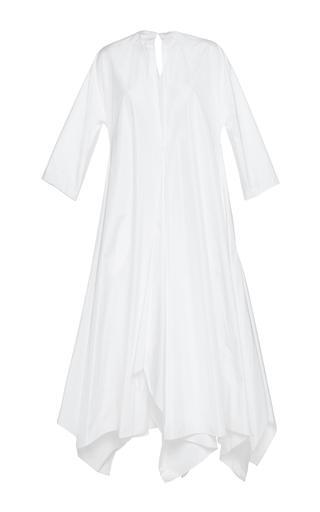 Medium maison rabih kayrouz white quarter sleeve handkerchief dress