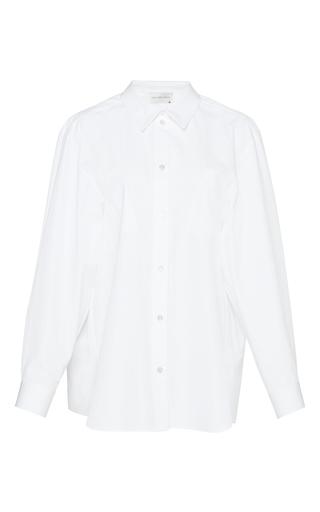 Medium maison rabih kayrouz white long sleeve cotton shirt