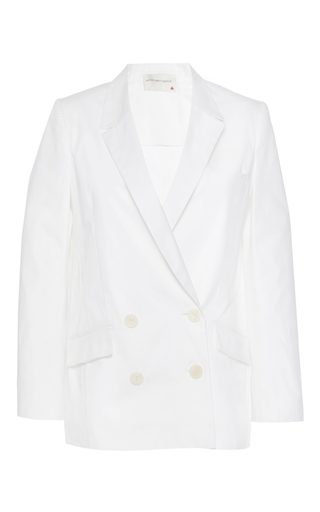 Medium maison rabih kayrouz white oversized double breasted blazer