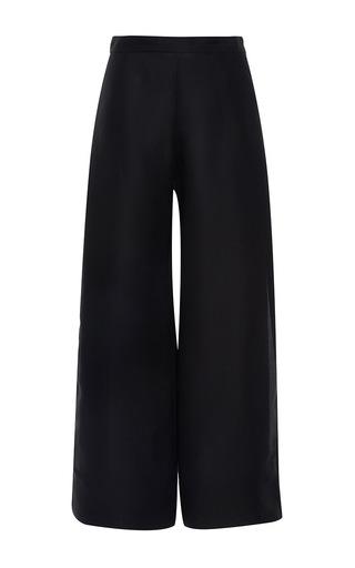 Medium maison rabih kayrouz black high rise side slit trousers