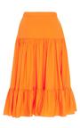Tiered Ruffle Skirt By Mds Stripes Moda Operandi