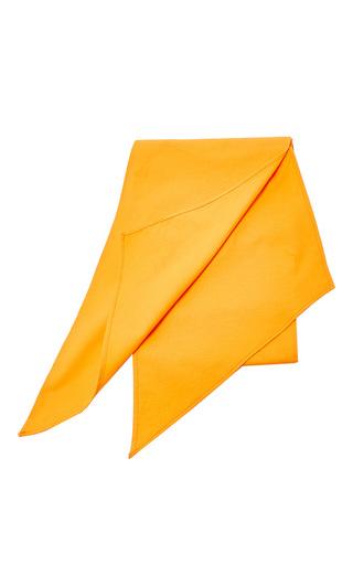 Medium mds stripes orange mini scarf