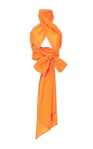 Medium mds stripes orange everything scarf