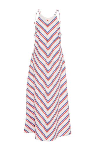 Medium mds stripes stripe bias column dress