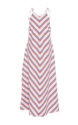 Medium mds stripes stripe bias column dress