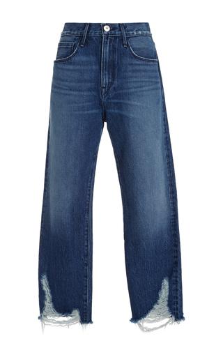 Medium 3x1 blue higher ground boyfriend jeans