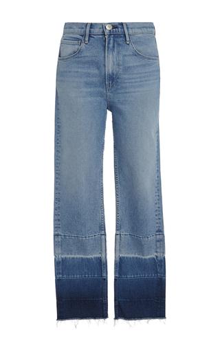 Medium 3x1 blue shelter straight leg jeans