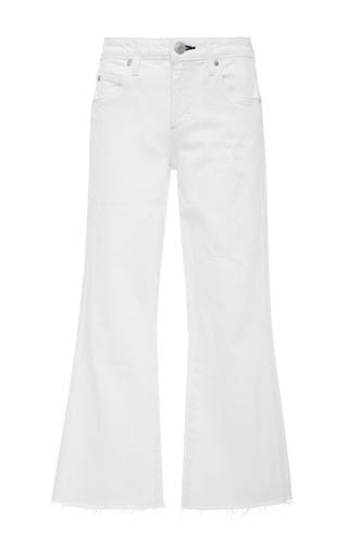 Medium amo  3 white vintage wide leg crop jeans