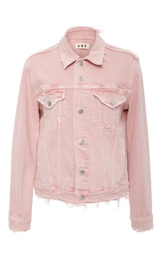 Medium amo  3 pink vintage stretch pink denim jacket