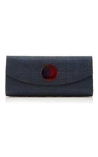 Medium deimos arte red blue envelope clutch