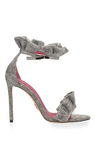 Medium oscar tiye silver antoinette sandal