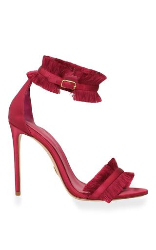 Medium oscar tiye burgundy caroline sandal